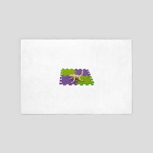 GymMatStretch112809 copy 4' x 6' Rug