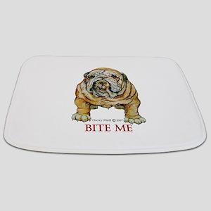 English Bulldog Bathmat