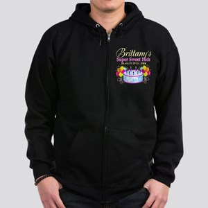 CUSTOM 16TH Zip Hoodie (dark)