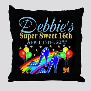 CUSTOM 16TH Throw Pillow