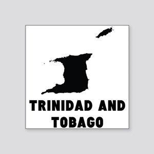 Trinidad and Tobago Silhouette Sticker