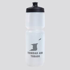 Trinidad and Tobago Silhouette Sports Bottle
