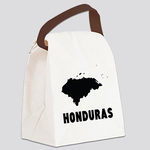 Honduras Silhouette Canvas Lunch Bag