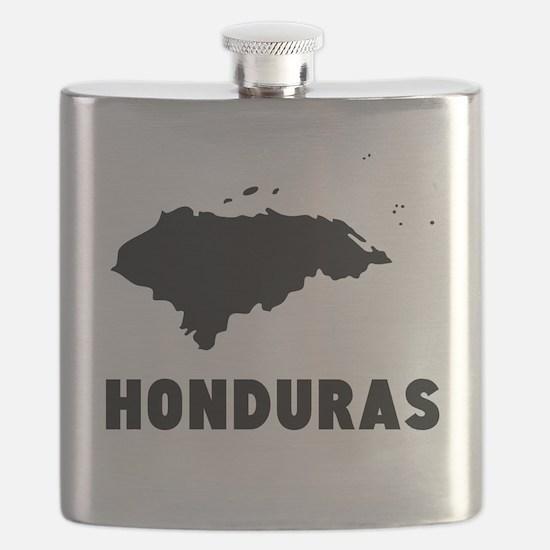 Honduras Silhouette Flask