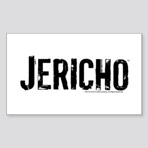 Jericho Logo Sticker (Rectangle)
