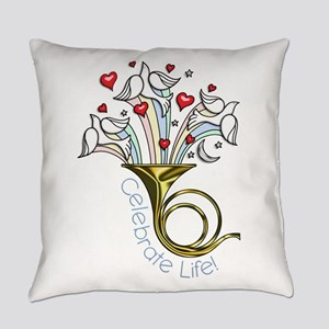 Doves and Hearts Flying From Trump Everyday Pillow