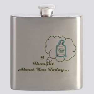 Lube Thoughts Flask