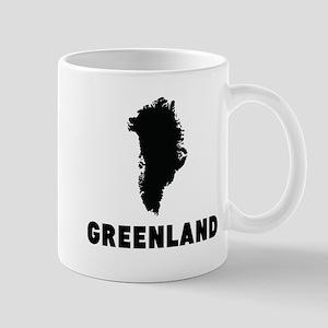 Greenland Silhouette Mugs