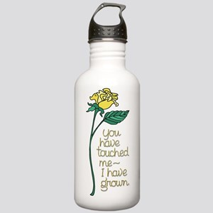 Single Yellow Rose wit Stainless Water Bottle 1.0L