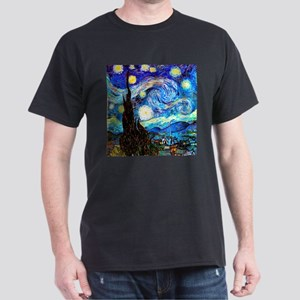 Starry Night Van Gogh T-Shirt