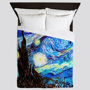 Starry Night Van Gogh Queen Duvet