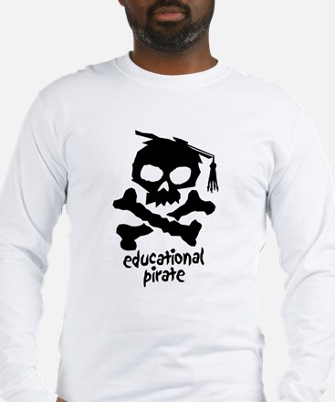 Educational Pirate Long Sleeve T-Shirt