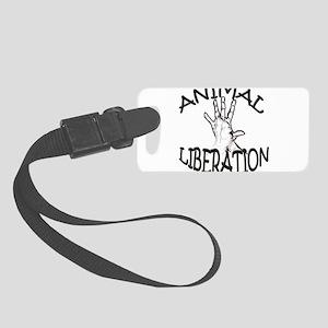 ANIMAL LIBERATION Small Luggage Tag