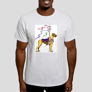Great Dane Fawn UC Carousel Light T-Shirt