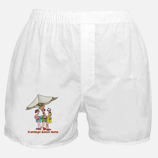 Flamingo Beach Bums Boxer Shorts