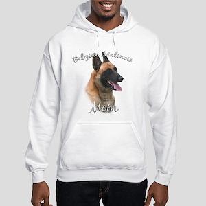 Malinois Mom2 Hooded Sweatshirt