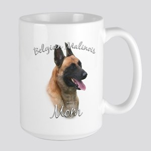 Malinois Mom2 Large Mug