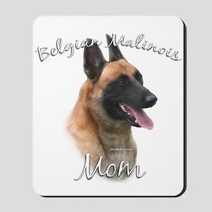 Malinois Mom2 Mousepad
