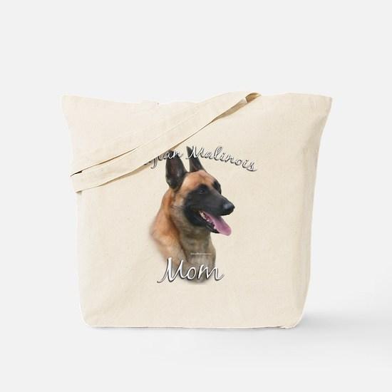 Malinois Mom2 Tote Bag
