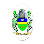 O'Connellan Oval Car Magnet