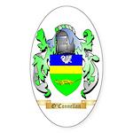 O'Connellan Sticker (Oval)