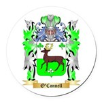 O'Connell Round Car Magnet