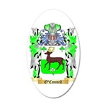 O'Connell 35x21 Oval Wall Decal