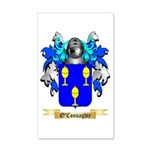 O'Connaghty 20x12 Wall Decal