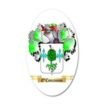 O'Concannon 35x21 Oval Wall Decal