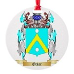 Ocker Round Ornament
