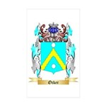 Ocker Sticker (Rectangle 50 pk)