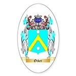 Ocker Sticker (Oval 50 pk)