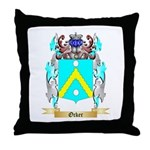 Ocker Throw Pillow