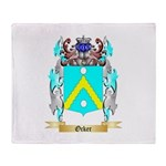 Ocker Throw Blanket