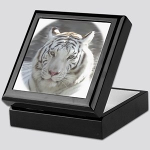 Royal White Tiger Keepsake Box