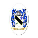 Ochoa 20x12 Oval Wall Decal