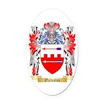 Occleston Oval Car Magnet