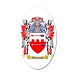 Occleston 20x12 Oval Wall Decal