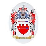 Occleston Oval Ornament