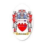 Occleshaw Oval Car Magnet