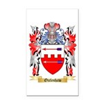 Occleshaw Rectangle Car Magnet