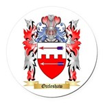 Occleshaw Round Car Magnet