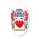 Occleshaw 35x21 Oval Wall Decal