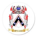 O'Cassin Round Car Magnet