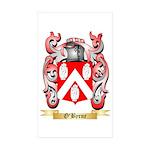 O'Byrne Sticker (Rectangle 50 pk)