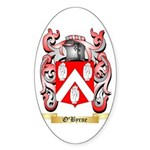 O'Byrne Sticker (Oval 10 pk)