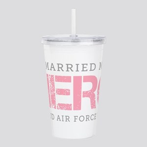 I Married My Hero - Air Force Wife Acrylic Double-