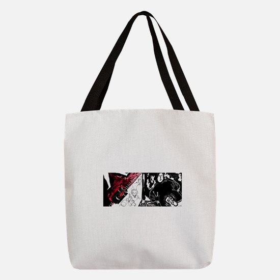 I am against FGM Polyester Tote Bag