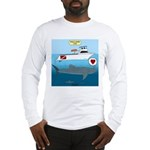 Whale Shark Love Long Sleeve T-Shirt