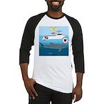 Whale Shark Love Baseball Jersey